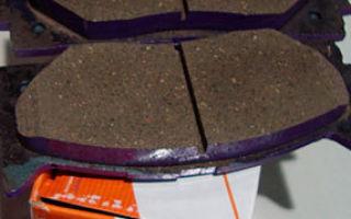 Размеры тормозных колодок и дисков toyota camry xv40