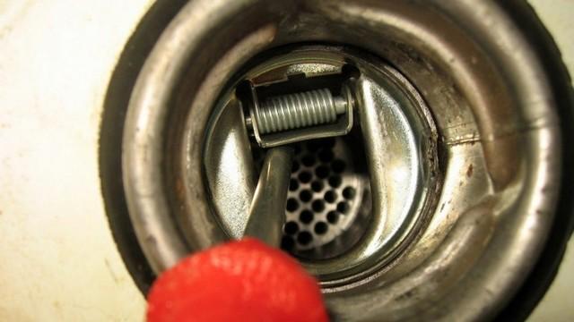Защита горловины бака от слива топлива