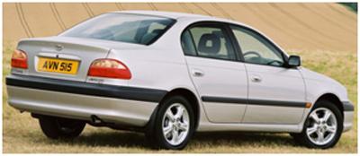 Заправочные объемы Тойота Авенсис с 2003 г