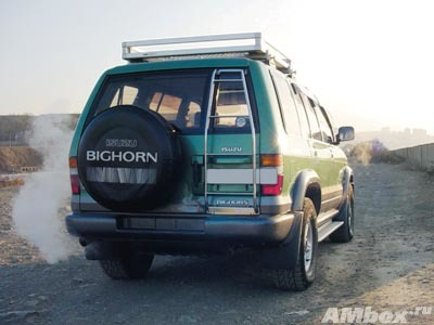 На что обратить внимание при покупке isuzu bighorn(trooper)