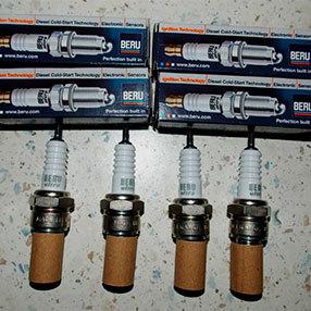 Свечи зажигания применяют в Рено Дастер