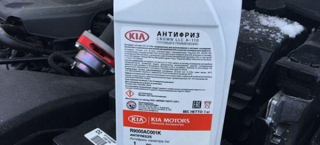 Какой и сколько жидкости заливать kia ceed