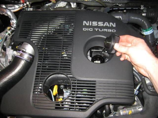 Сколько и чего заливать в nissan juke