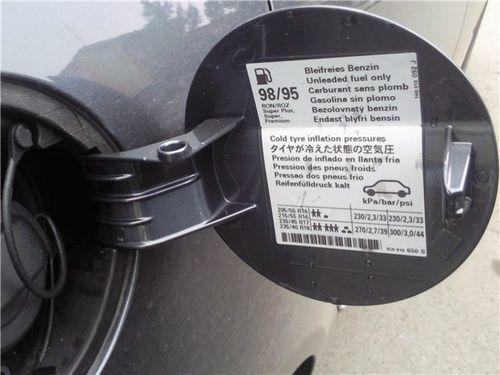 Размеры и давление в шинах volkswagen tiguan