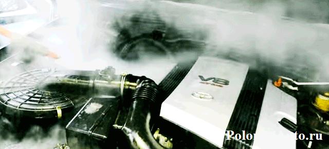 Мойка двигателя парогенератором - взгляд на реальность