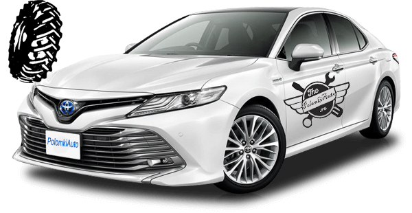 Размеры и давление в шинах Тойота Камри