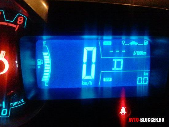 Расход топлива Шевроле Авео т300 2012 года