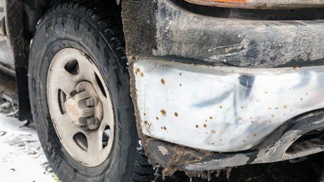 Избавиться от налета и ржавчины на хроме машины