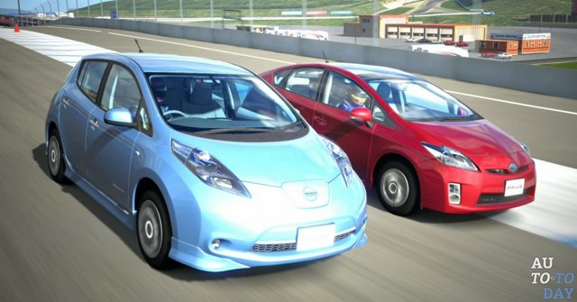 Рейтинг 10 электрокаров из Японии